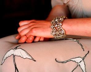 Jennifer Behr Jennifer Behr Encrusted Bracelet