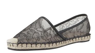 Valentino Flat Lace Espadrilles