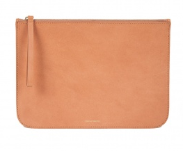 Mansur Gavriel Large Flat Zipper Clutch
