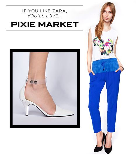 If you like Zara, you'll love Pixie Market.