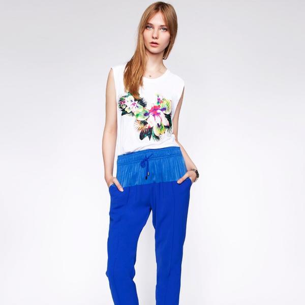Pixie Market Cobalt Sporty Pants