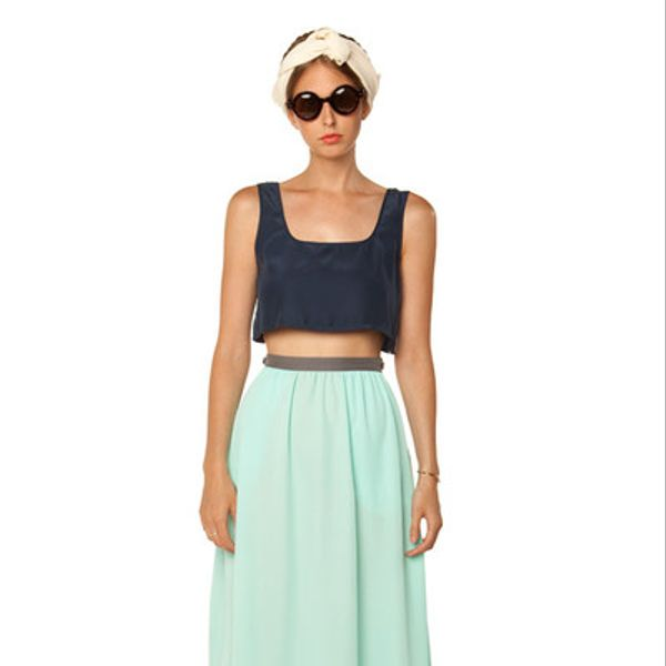 In God We Trust Mint Full Skirt