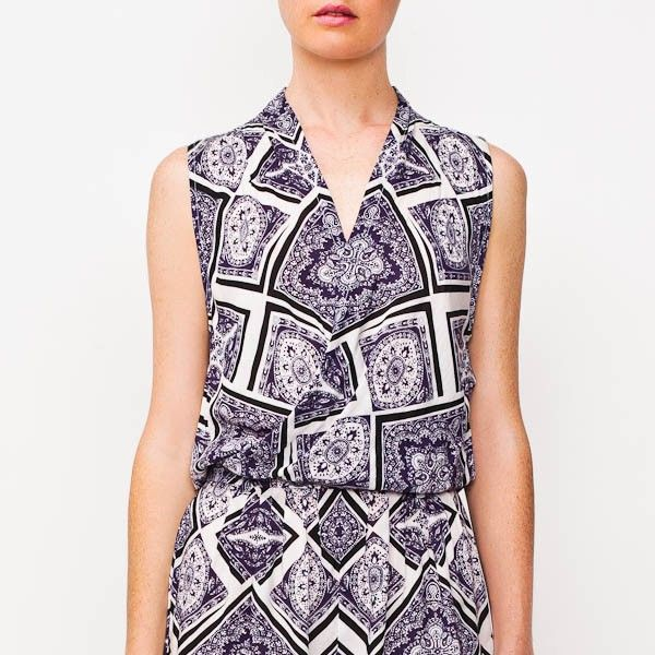 Maurie & Eve Dahlia Playsuit