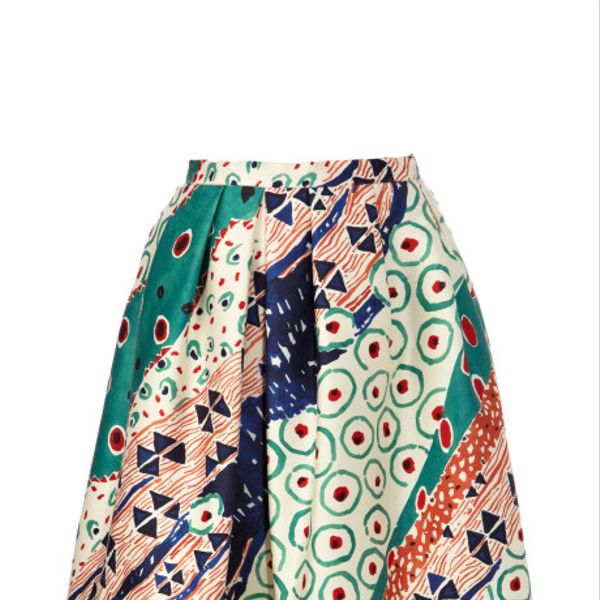Oscar de la Renta Full Short Skirt
