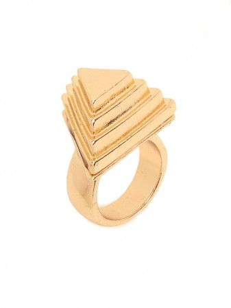 Baublebar  Pyramid Ring