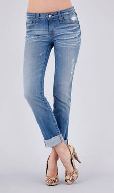 Big Star Kate Mid Rise Straight Jeans