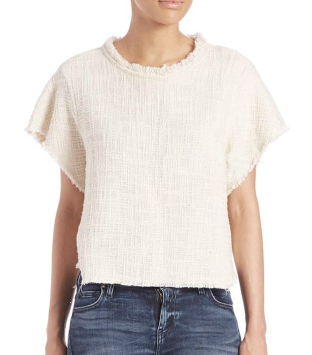 Iro Dorothy Tweed Top