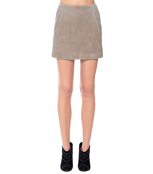 Anine Bing Suede Skirt