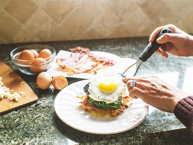 A Nutritious Japanese Yam Breakfast Sandwich