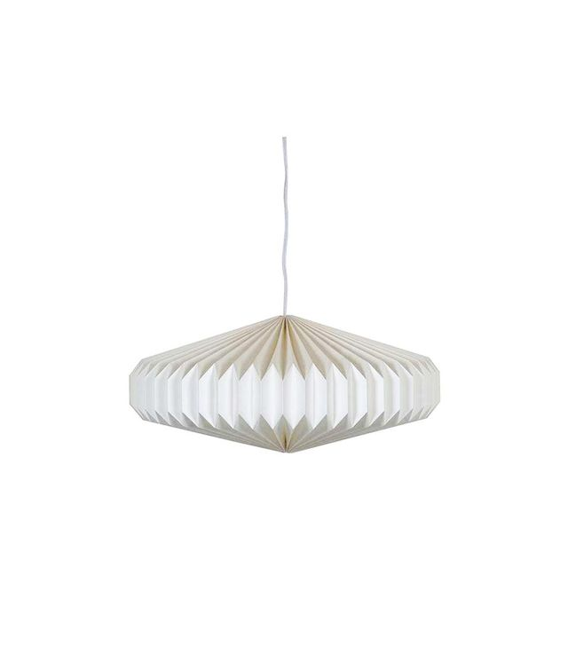 Chairish Paper Accordion Pendant Lamp