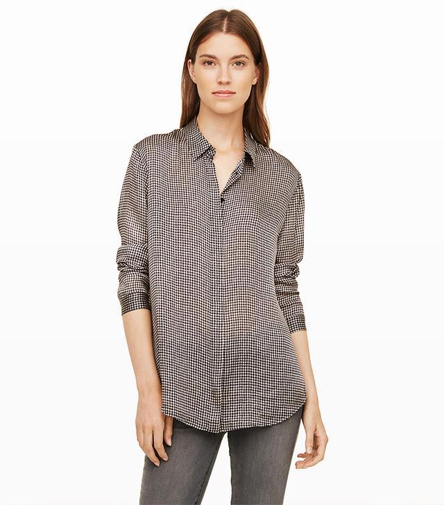 Club Monaco Nicolette Silk Shirt