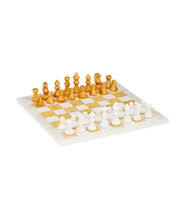 Scali Salvatore Alabaster Chess Set