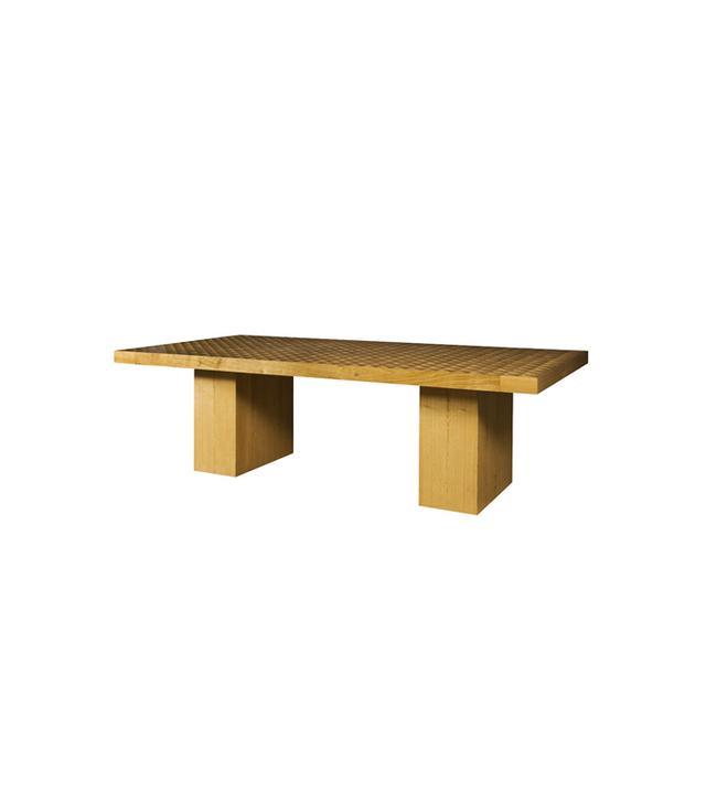 Kelly Wearstler Trousdale Wood Dining Table