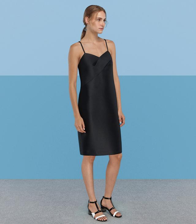 Finery Wybert Strap Detail Shift Dress