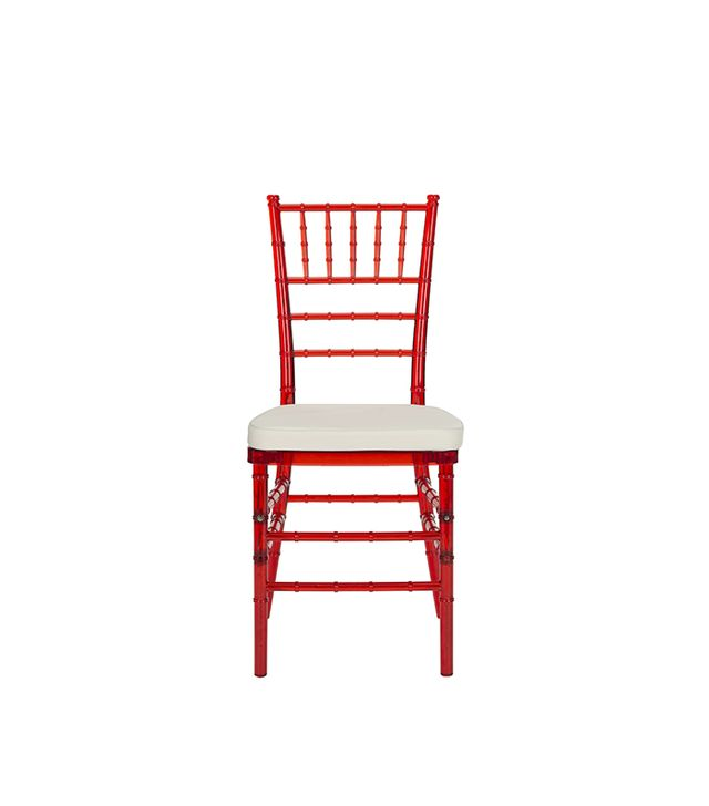 Safavieh Carly Red Side Chair