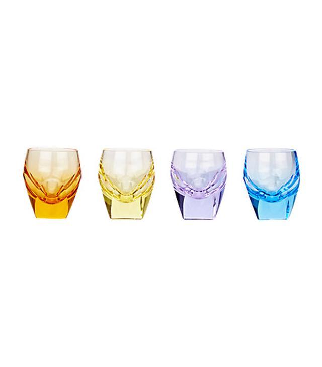 Moser USA Crystal Shot Glass Set