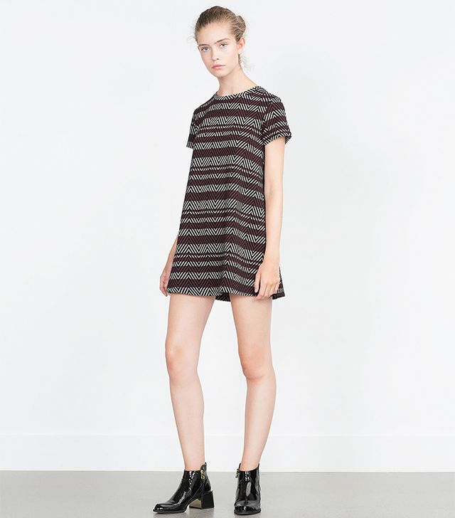 Zara Jacquard Dress