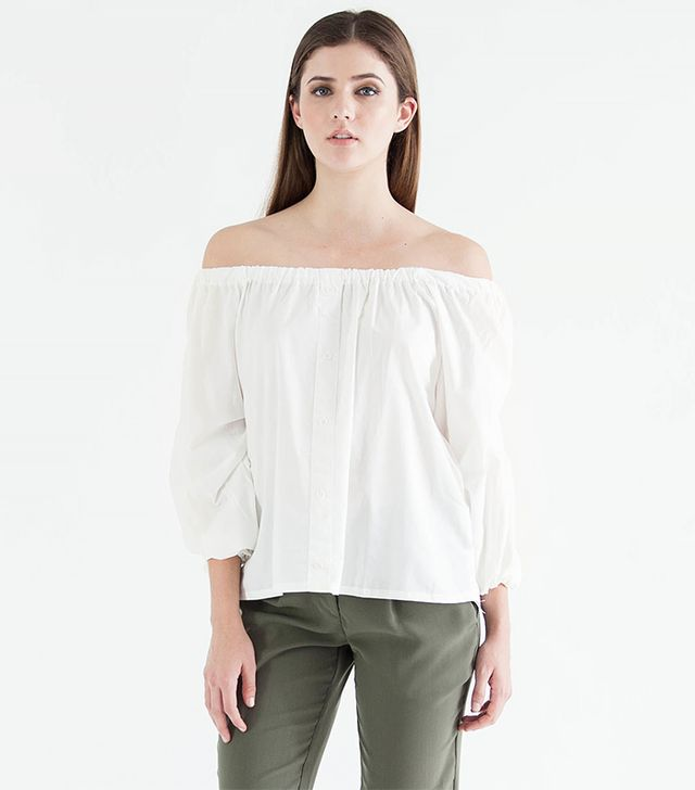 Modern Citizen Sofia Off-Shoulder Blouse
