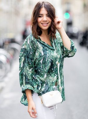 See This Blogger's Stylish Take on a Tropical Print