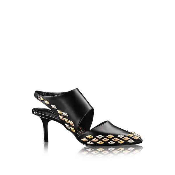 Louis Vuitton Gold Rush Cut-Out Pump