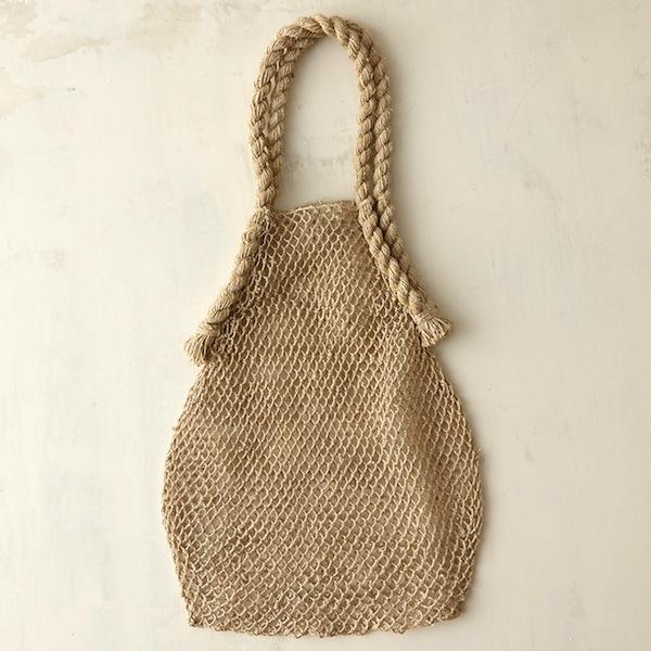 Terrain Hemp String Bag