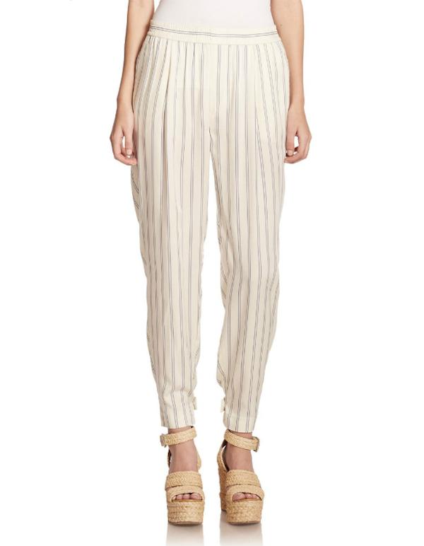 Polo Ralph Lauren Striped Satin Pants