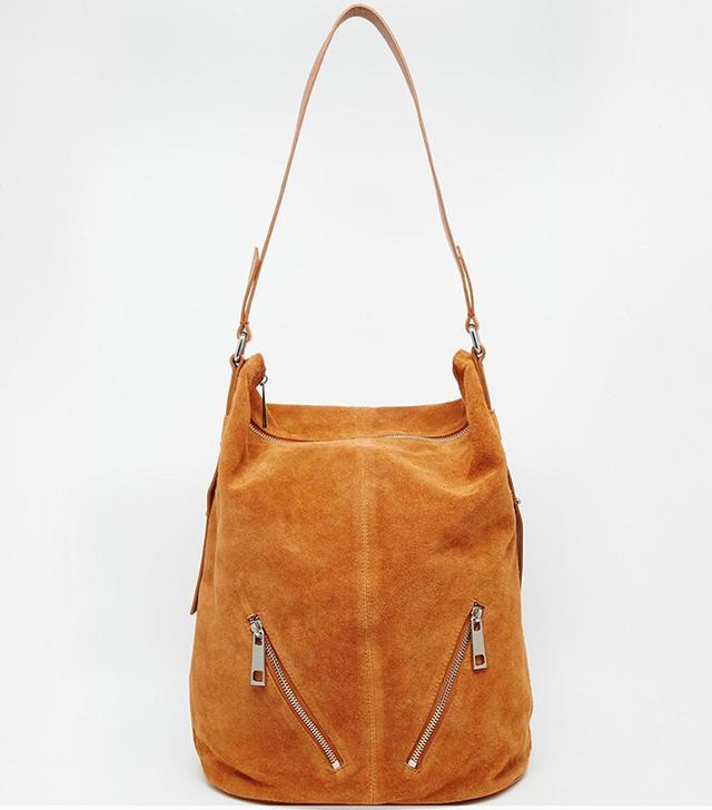 ASOS Suede Shoulder Bag