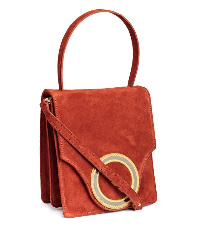 H&M Suede Handbag