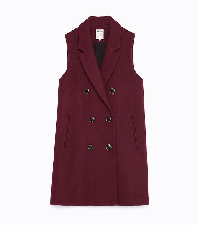 Zara Double Breasted Waistcoat