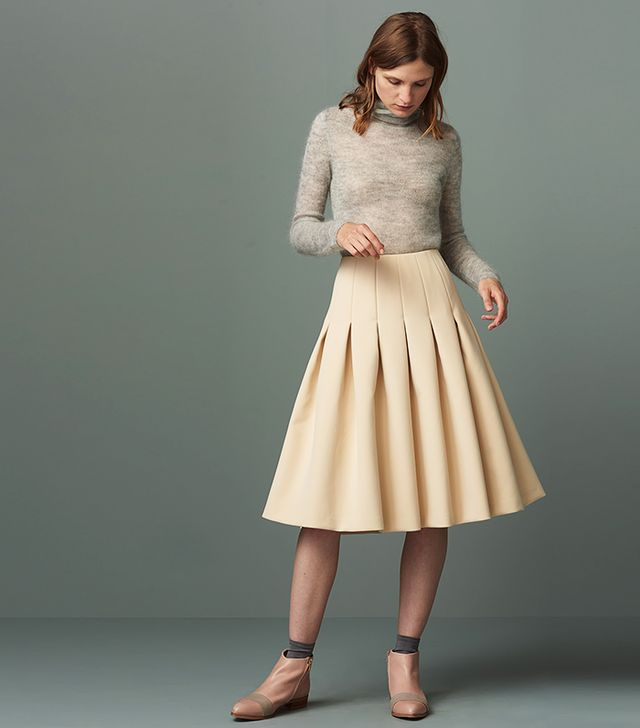 Finery Kenbury Full Bonded Skirt