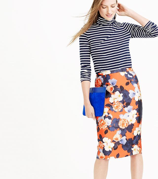 J.Cew Collection Pencil Skirt