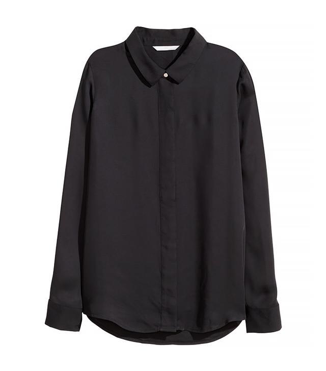 H&M Long-Sleeve Blouse