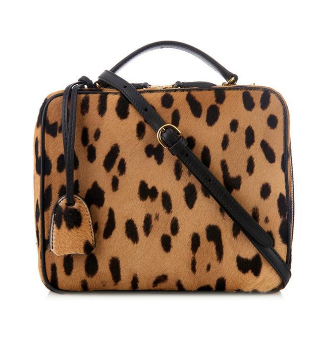 Mark Cross Laura Calf-Hair Cross-Body Bag