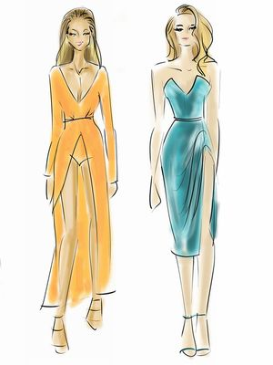 VMAs Best Dressed List: Illustrated Edition