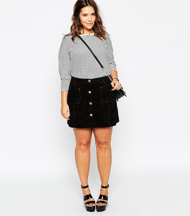 Asos Curve A-Line Skirt