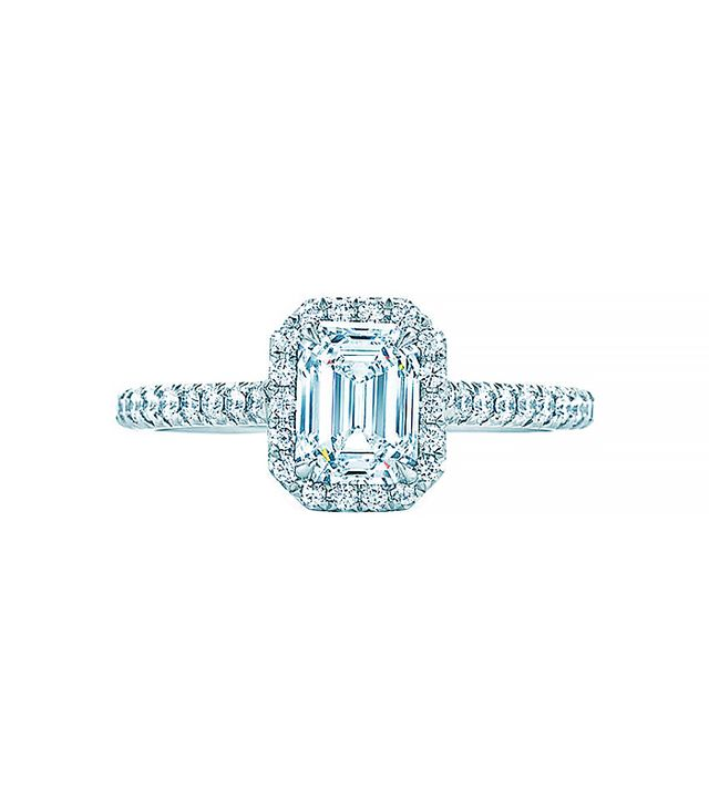 Tiffany & Co. Soleste Emerald Cut