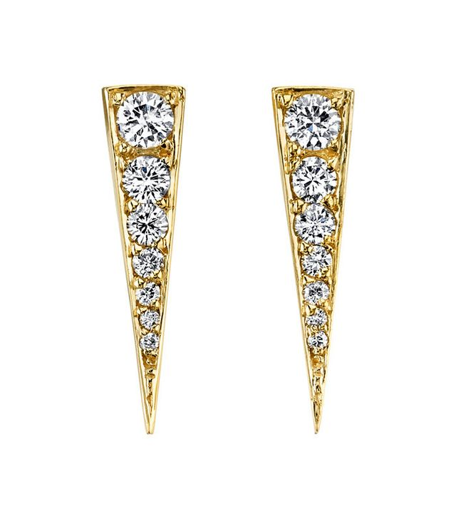 Anita Ko Small Diamond Dagger Earrings