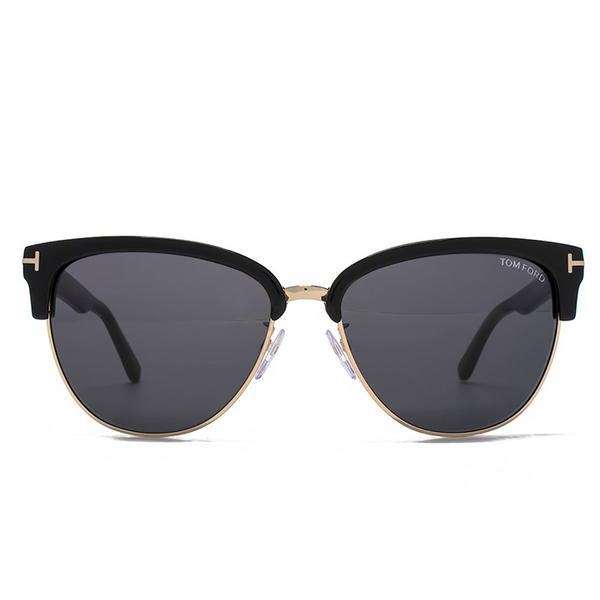 Tom Ford Fany Dual-Rim T-Temple Sunglasses