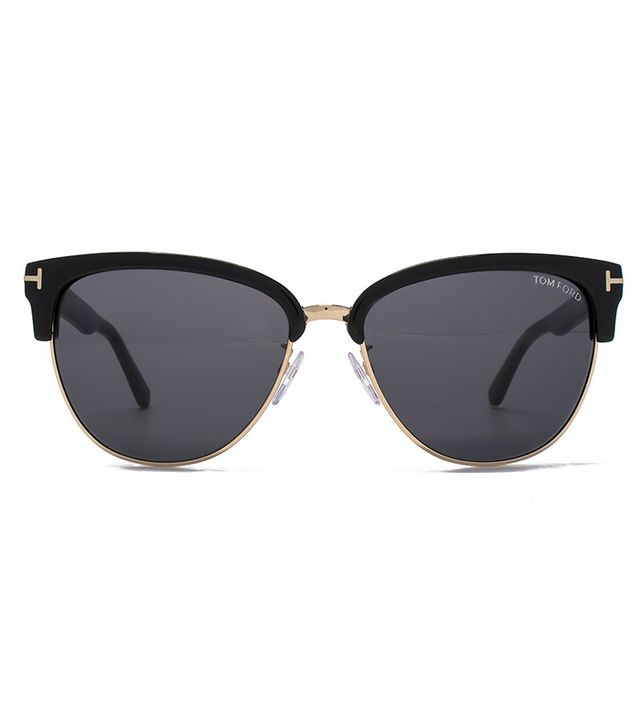 Tom Ford Fany Dual-Rim T-Temple Sunglasses