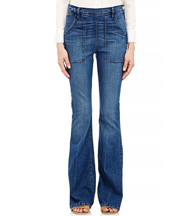Frame Denim Le Flare De Francoise Flared Jeans