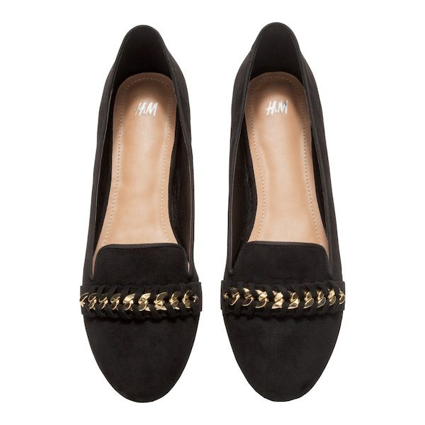 H&M Chain Loafers