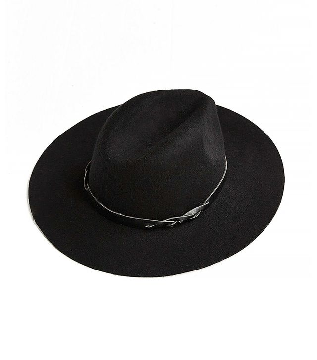 Urban Outfitters Braided Trim Felt Panama Hat