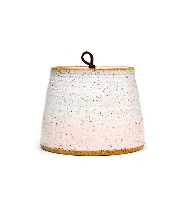 Leif Speckled Gradient Ceramic Jar