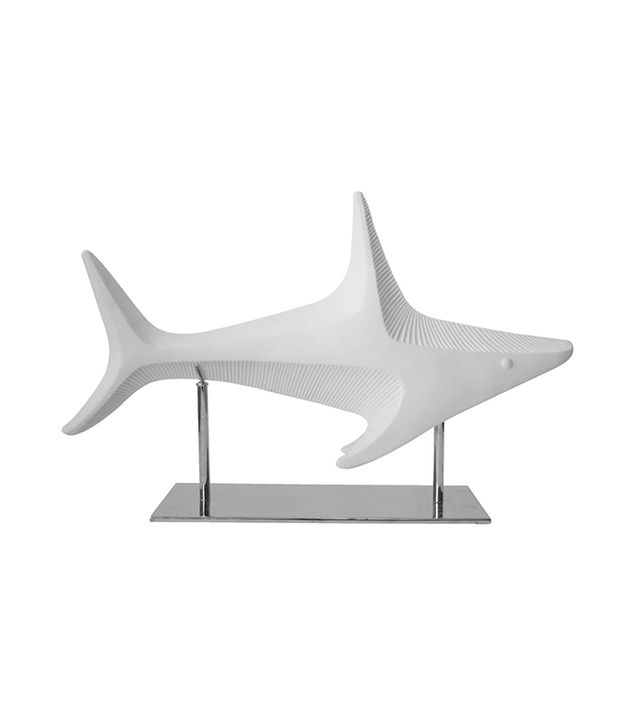 Jonathan Adler Ceramic Shark Sculpture