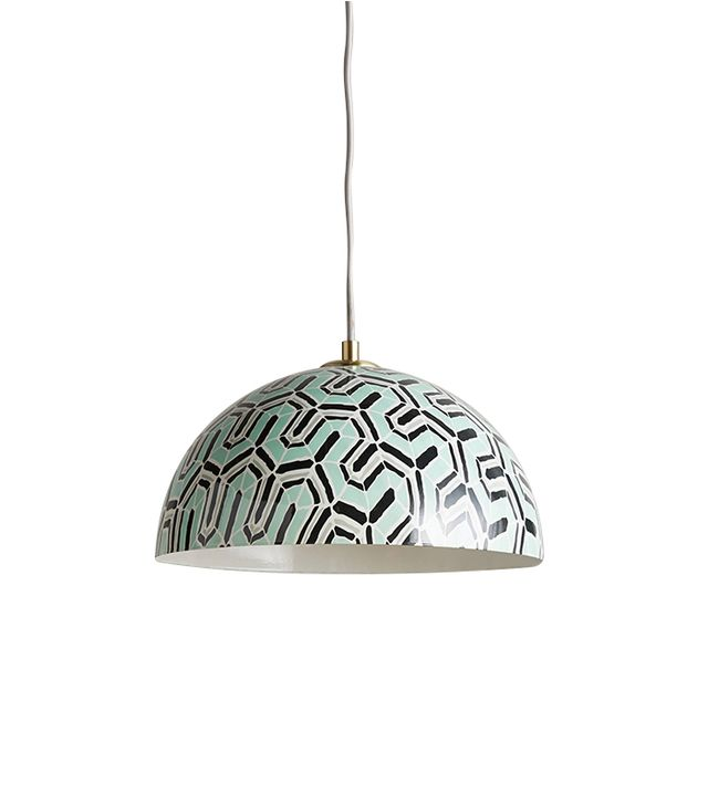 Anthropologie Winding Course Pendant Lamp