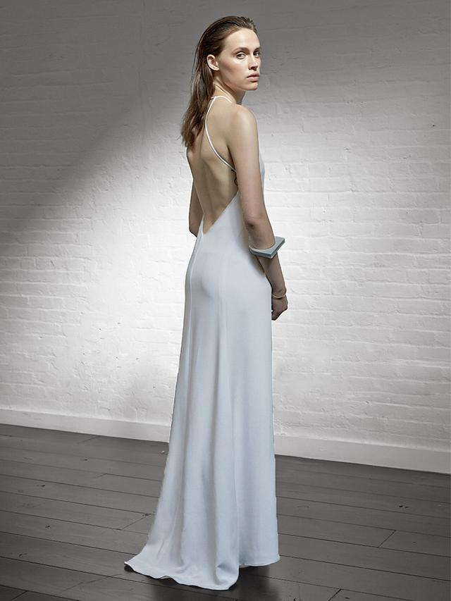 Locke Bride High Neck Backless Dress