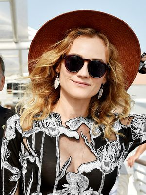 Diane Kruger's Fancy Bodysuit Is Perfect for Fall