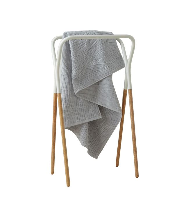 West Elm Modern Two-Tone Towel Rack