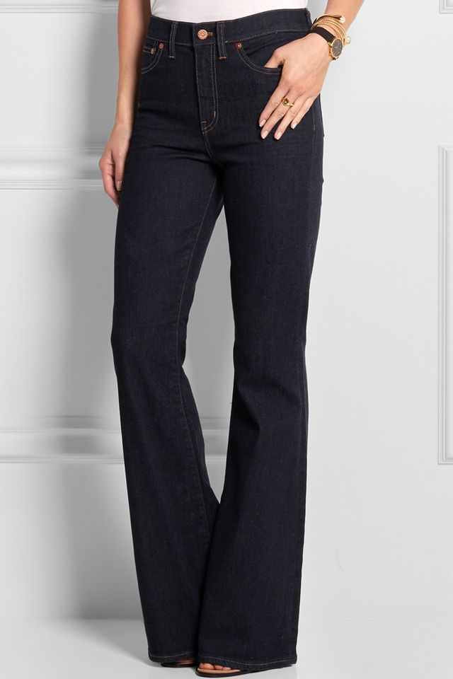 Madewell Flea Market High-Rise Flared Jeans