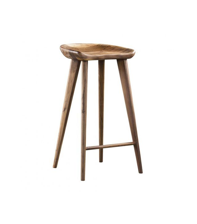 HD Buttercup Taburet a Counter Stool in Walnut
